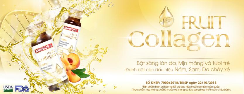 MediUSA - Thực phẩm bảo vệ sức khỏe Fruit Collagen